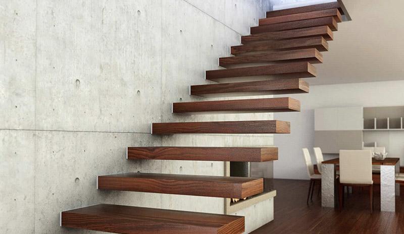 Виды межэтажных лестниц и материалы для них