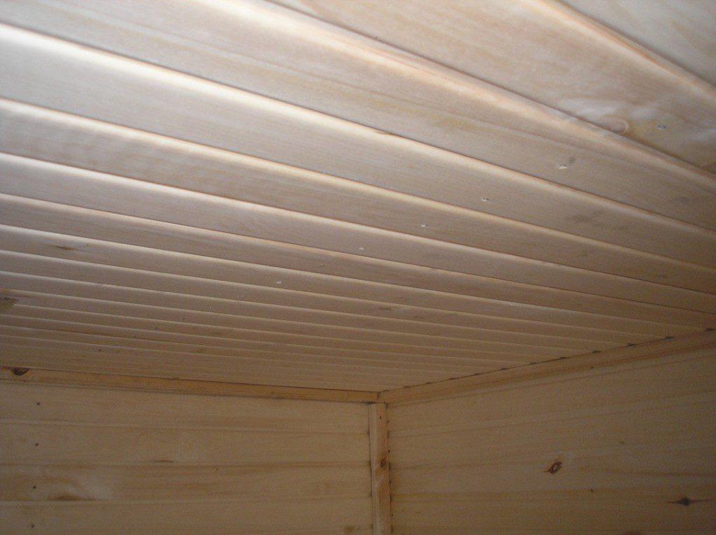 Внутренняя отделка бани своими руками поэтапно: обшивка потолка