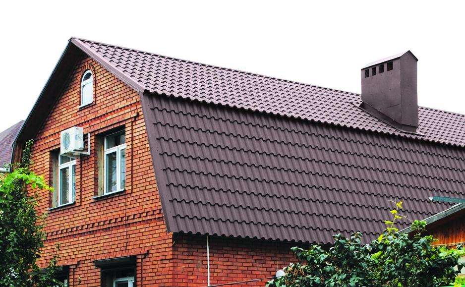 Как делать крышу дома с мансардой