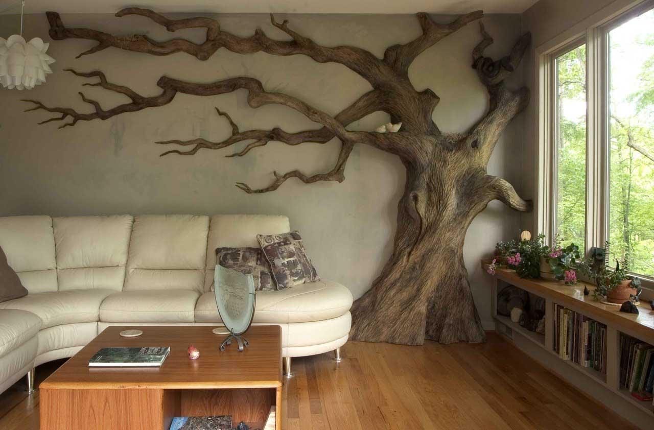 Своими руками деревья для интерьера