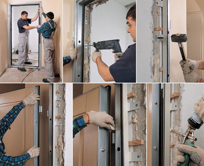 Как самому сварить металлическую дверь