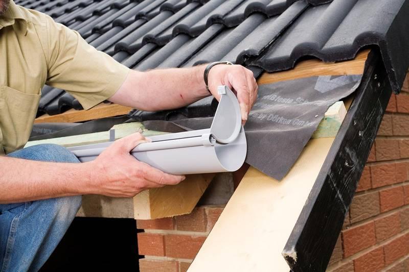 Сливы для крыши своими руками фото