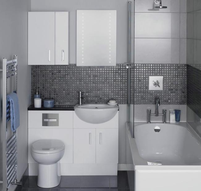 Существует несколько основополагающих принципов, как обустроить ванную комнату правильно: