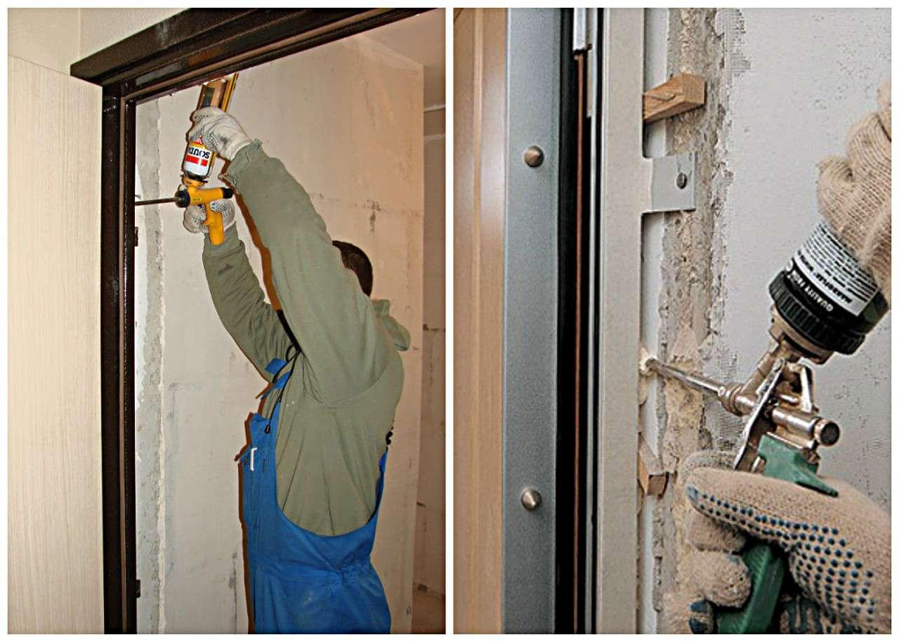 Устанавливаем входную дверь своими руками 137
