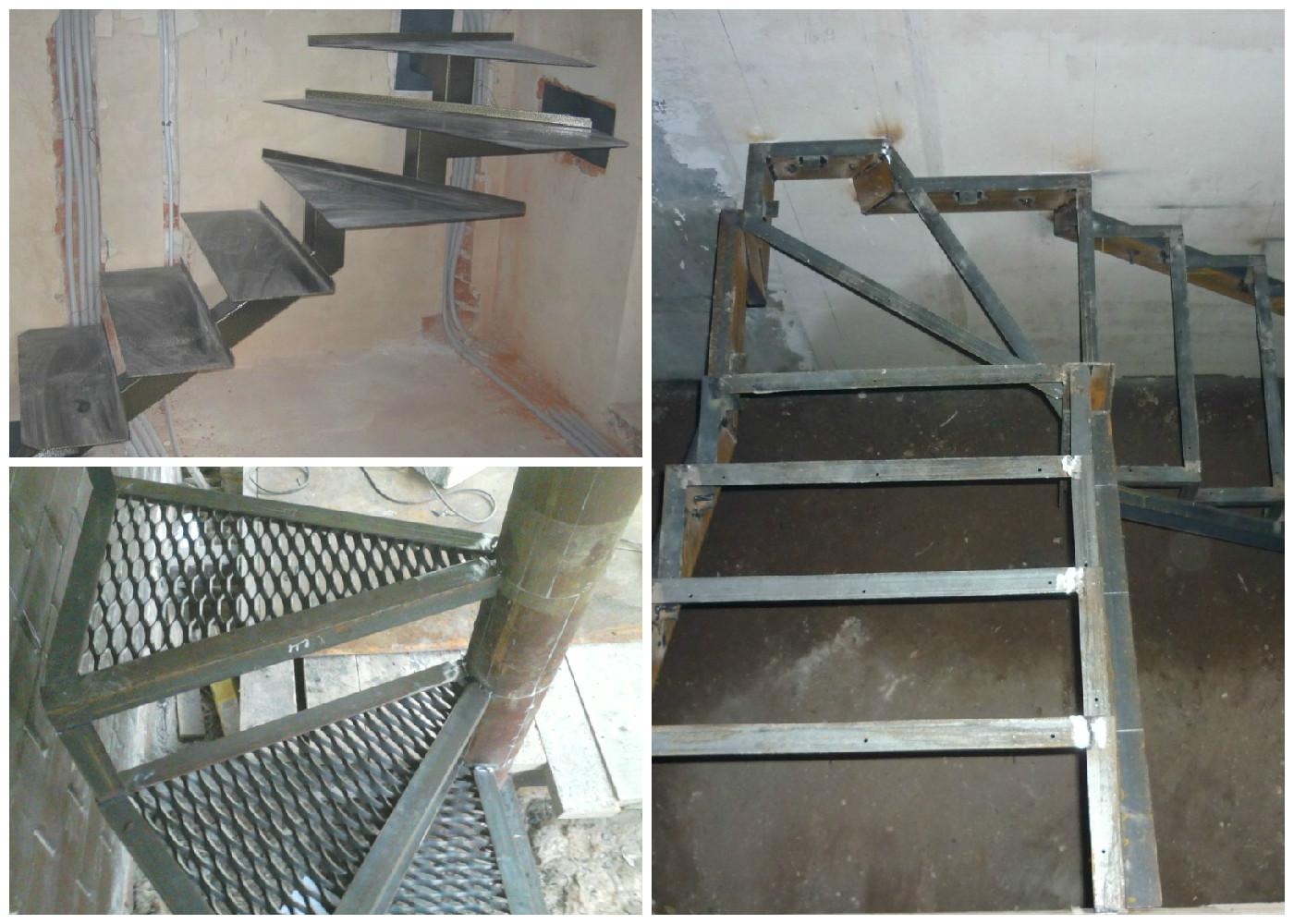 Металлическая лестница своими руками пошаговая инструкция 15