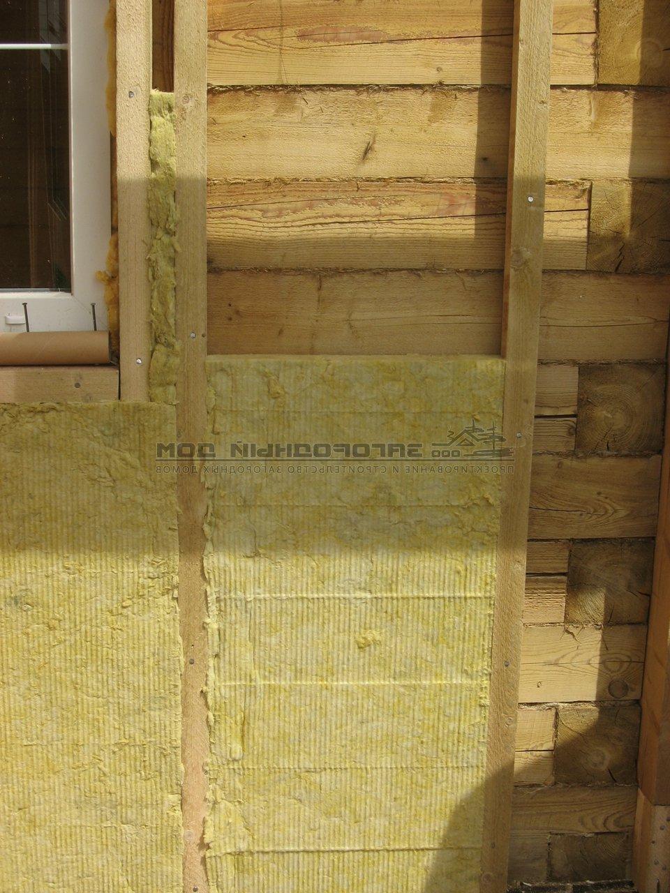 Наружного утепления стен деревянного дома своими руками