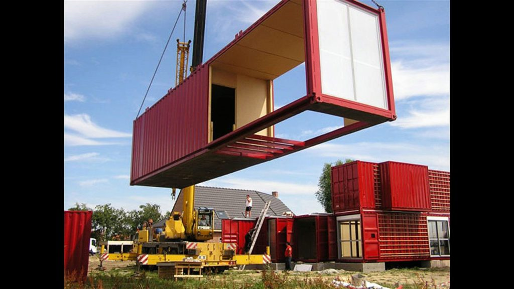 Порядок строительства дома из морских контейнеров
