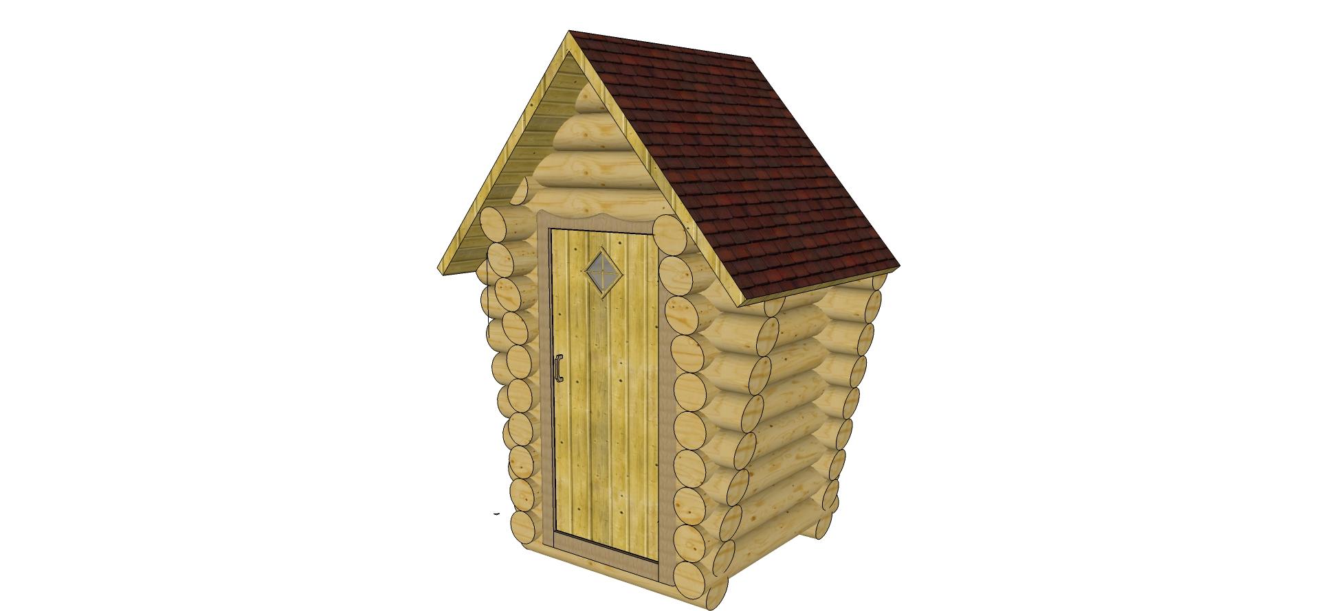 Туалет на даче своими руками: чертежи, размеры, как построить