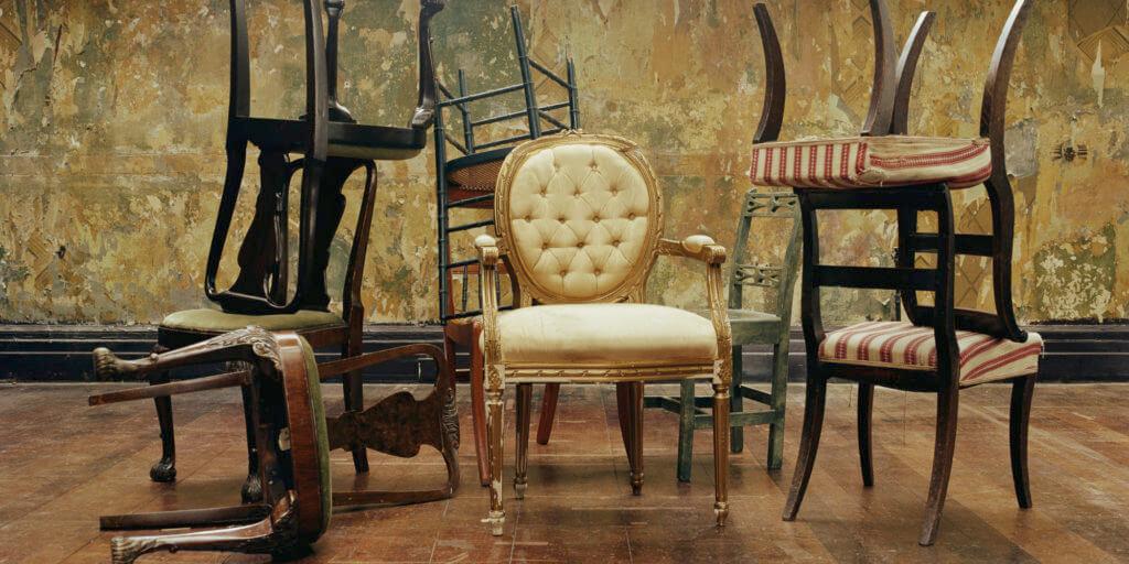 Мебель и декорации в стиле винтаж