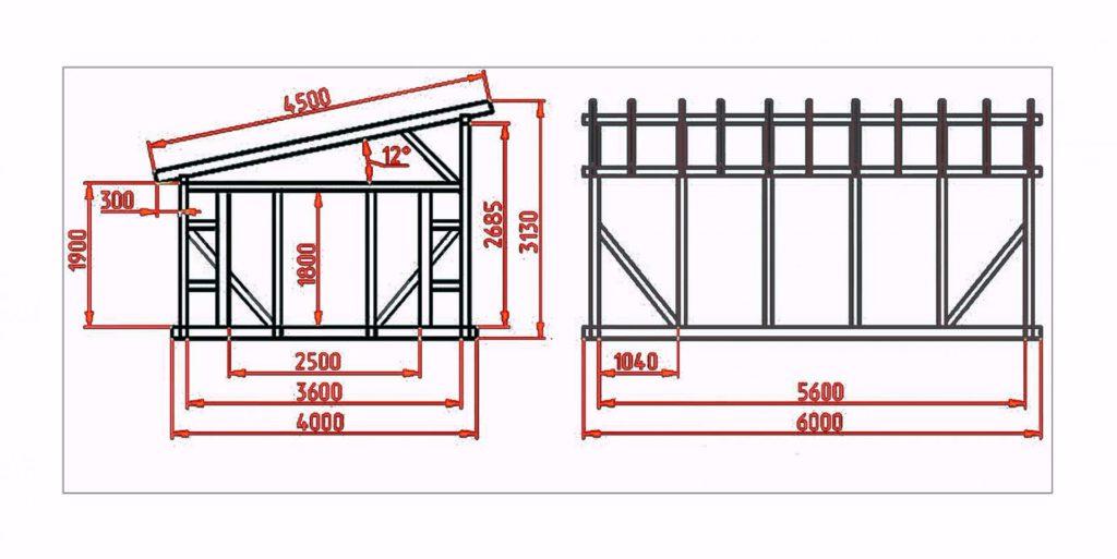 Разработка проекта крыши и расчет уровня перепада крыши
