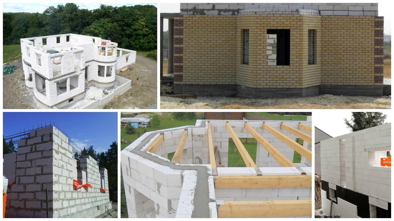 Проект дома из пеноблоков пошагово